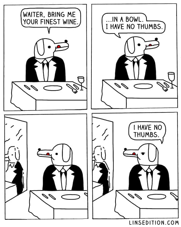 No Thumbs