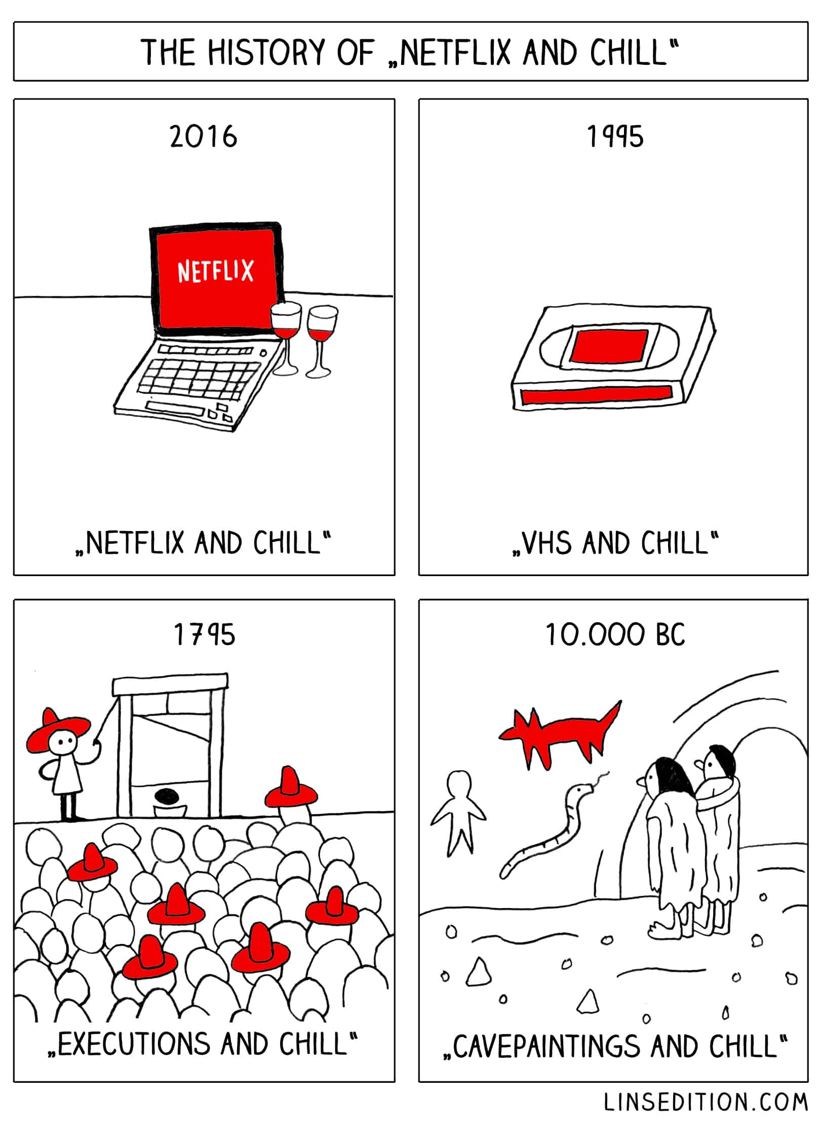 "The History of ""Netflix and Chill"""
