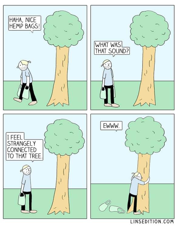 tree-hugger-comic-linsedition